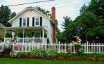 Забор для частного деревянного дома: Как выбрать? 200+ (Фото) Красивых вариантов