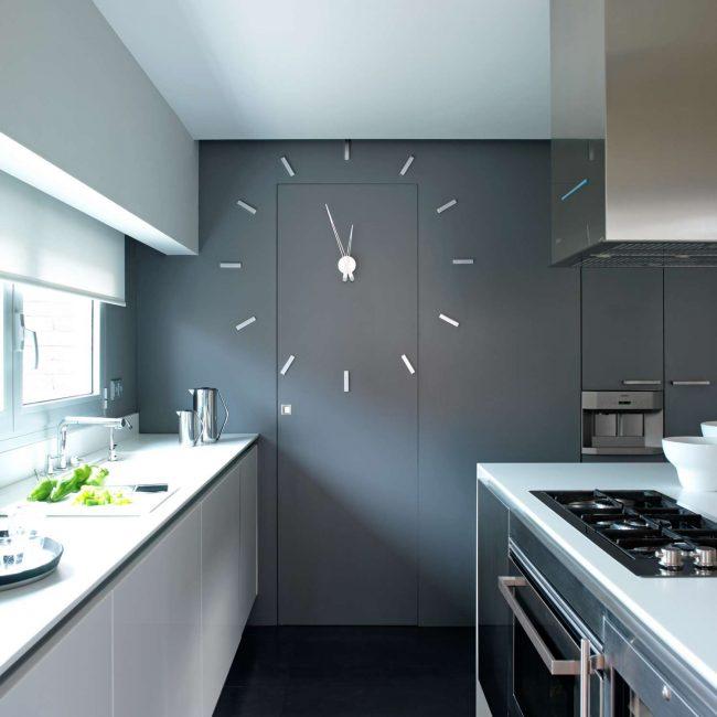 Создаем дизайн с помощью часов