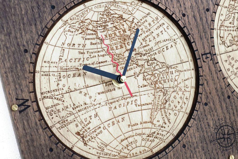 Карта в раме