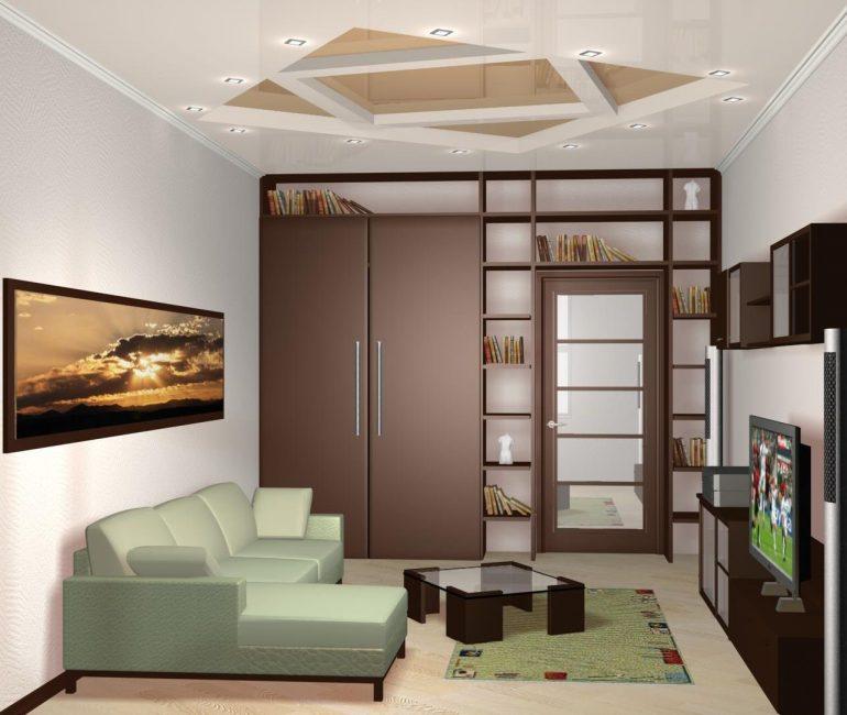 Сочетаем пол и потолок с интерьером