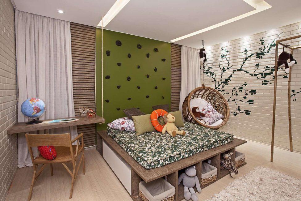 Кровать подиум для ребенка