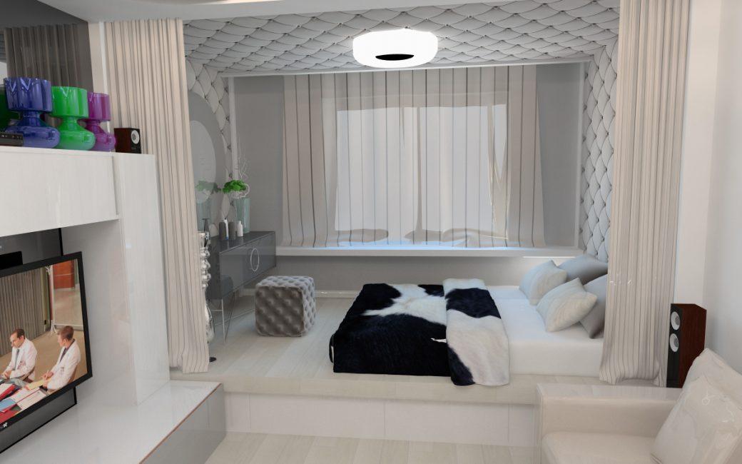 Зонируем и определяем спальное место