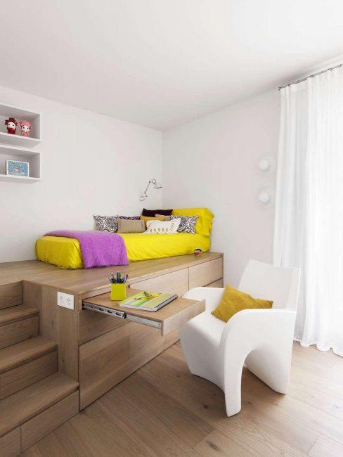 Спальное место должно быть удобным для сна