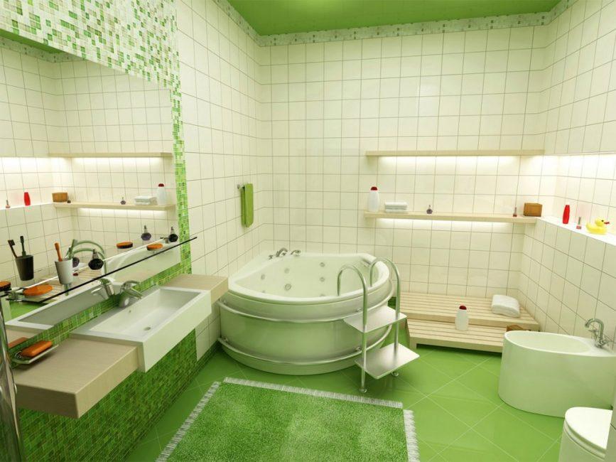 Моющиеся подходящее решение для кухонь, ванных комнат, санузлов
