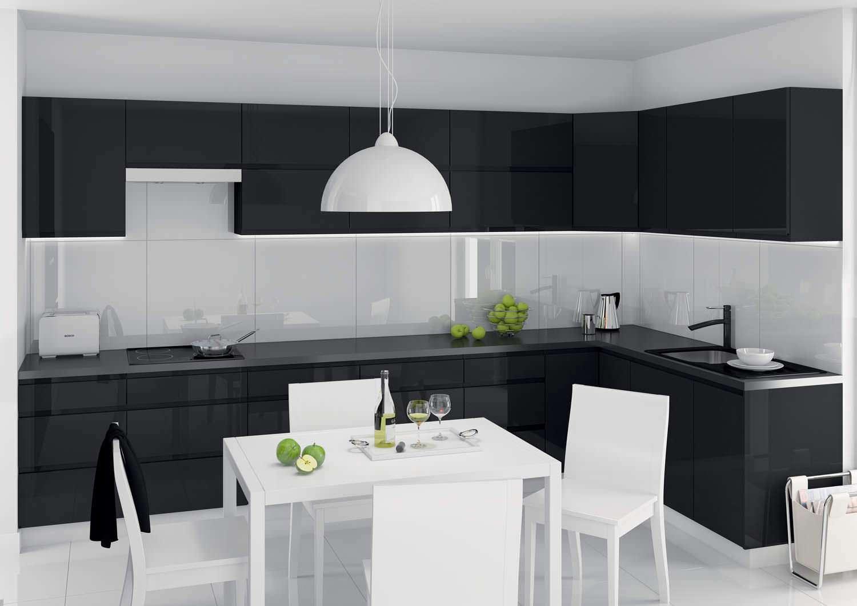 виды кухни в картинках в черно-белых тонах фото декорирования дачи