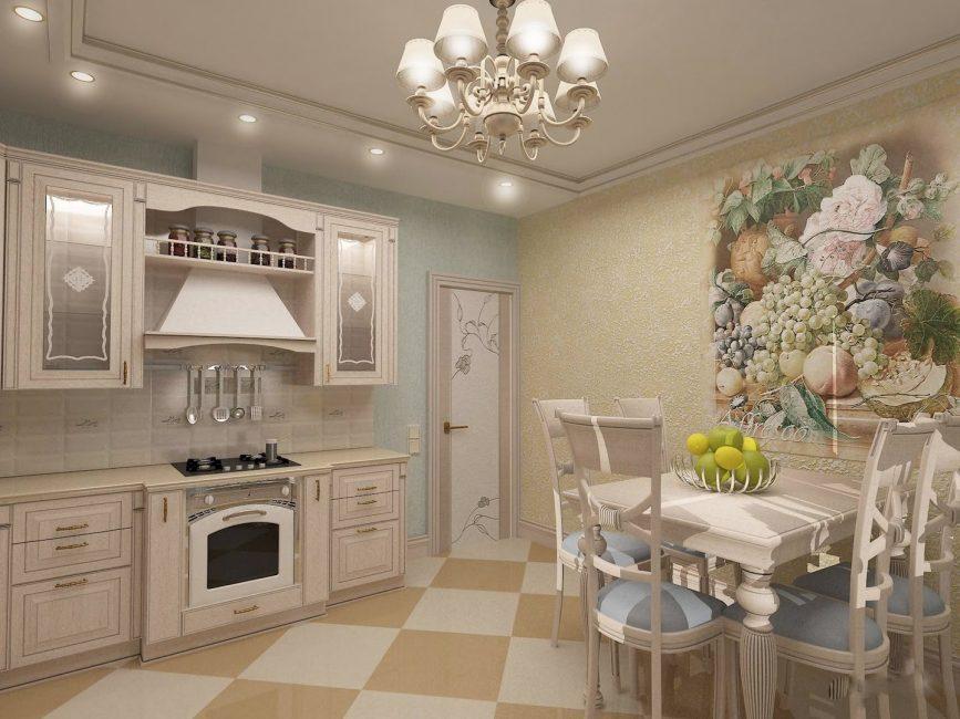 Нотки прованса на кухне