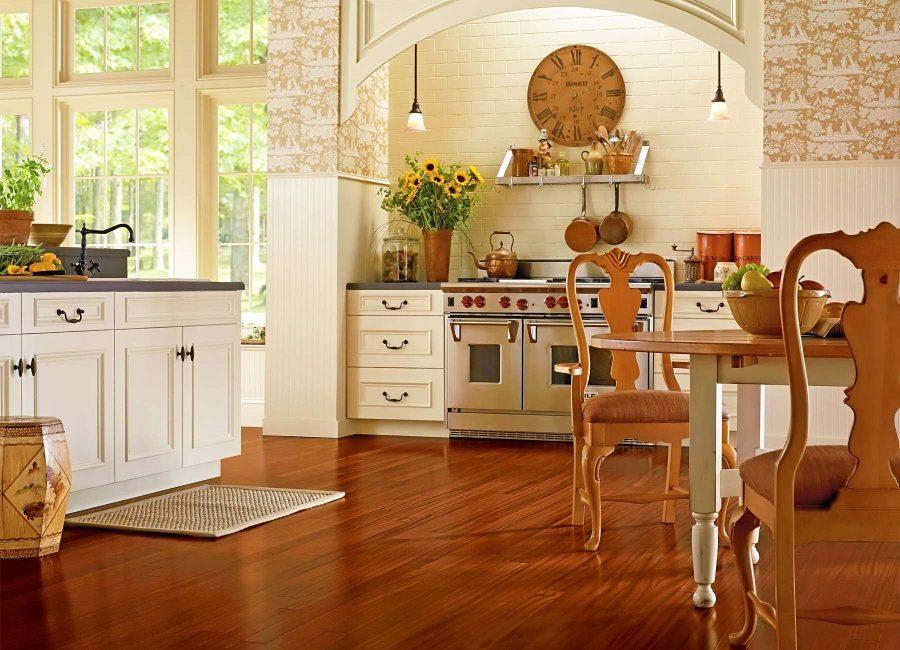 Линолеум - практичное решение для многих кухонь