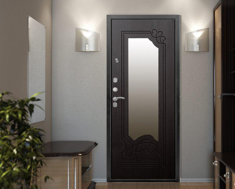 Габариты двери должны соответствовать площади интерьера