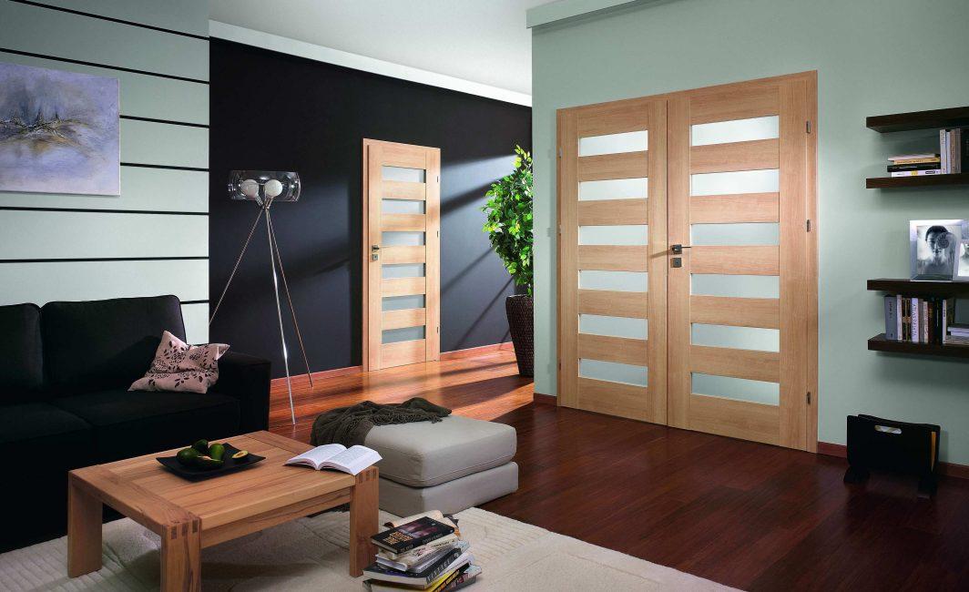 Когда двери играют важную роль в дизайне