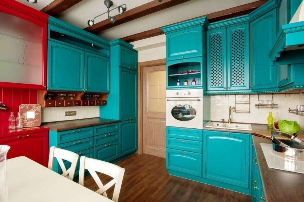 Сочетайте потолок с общим интерьером