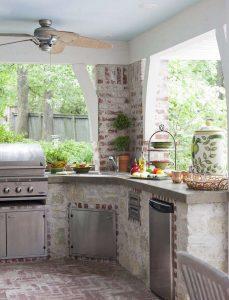 Летняя кухня на даче - Как обустроить? 220+ (Фото) Проектов дизайна своими руками