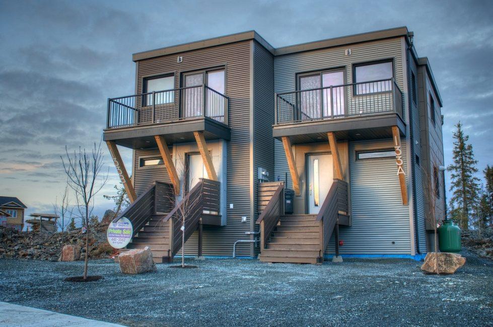 Модульные дома все более стают популярными