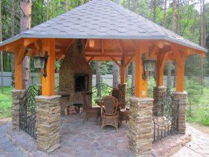 Садовые Беседки своими руками - Красивые варианты (245+ Фото). Как превратить в настоящее украшение? (из дерева, из металла, из поликарбоната)
