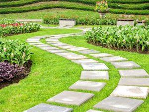Садовые дорожки своими руками с малыми затратами: Как красиво оформить? 180+ Фото дачных вариантов из разных материалов (из плитки, пластика, резины)