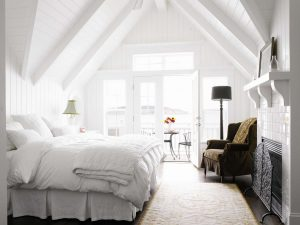 Дизайн Спальни на мансарде - Удивительные идеи: 200+ (Фото) Интерьеров в Современном стиле