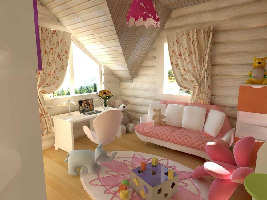 Делаем комнату творческой и красивой
