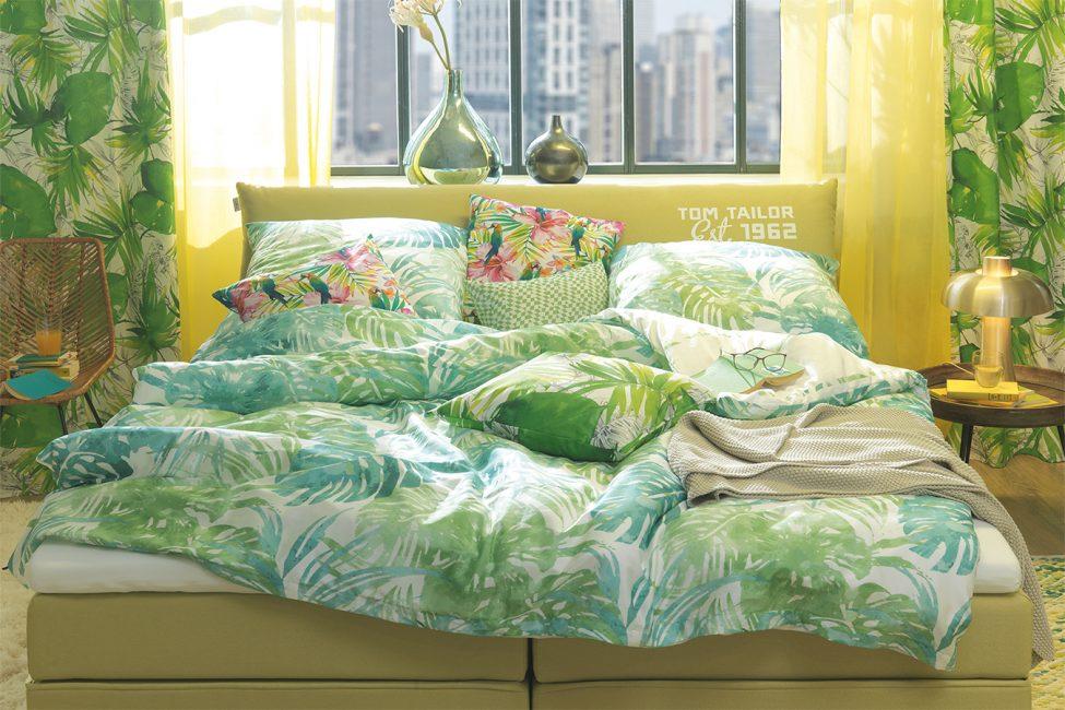 Яркий текстиль для оформления