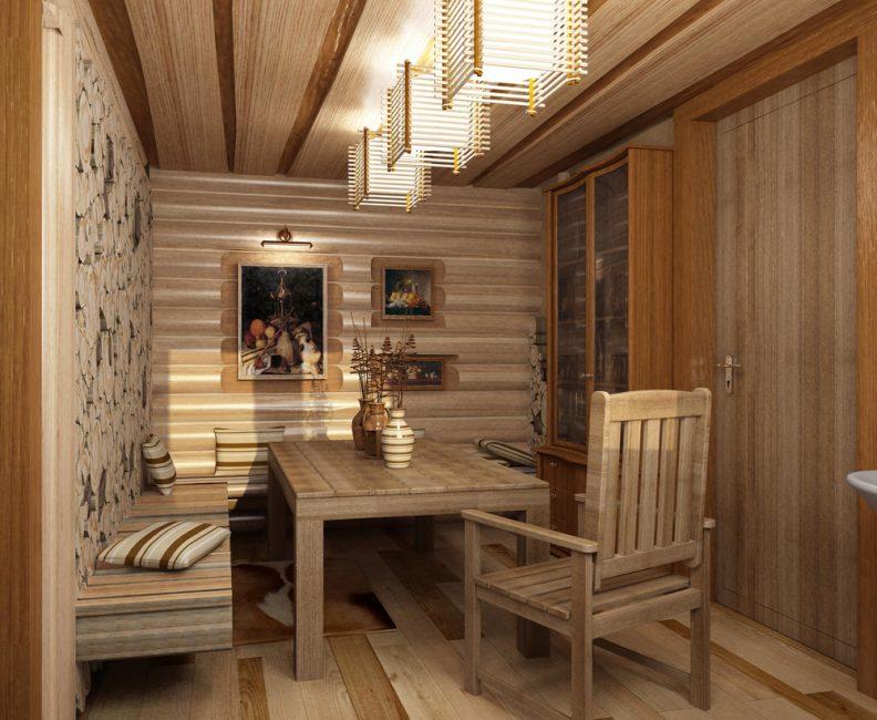 Комната отдыха в японском стиле