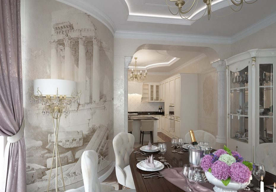 Арка-портал для квартир с невысокими потолками