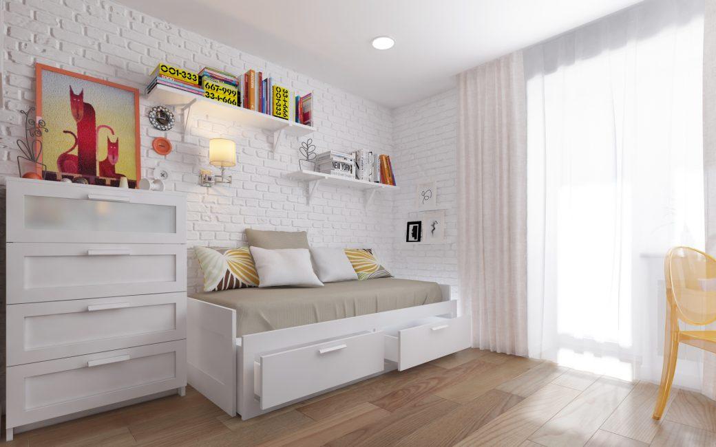 Отбросьте все страхи перед белой мебелью
