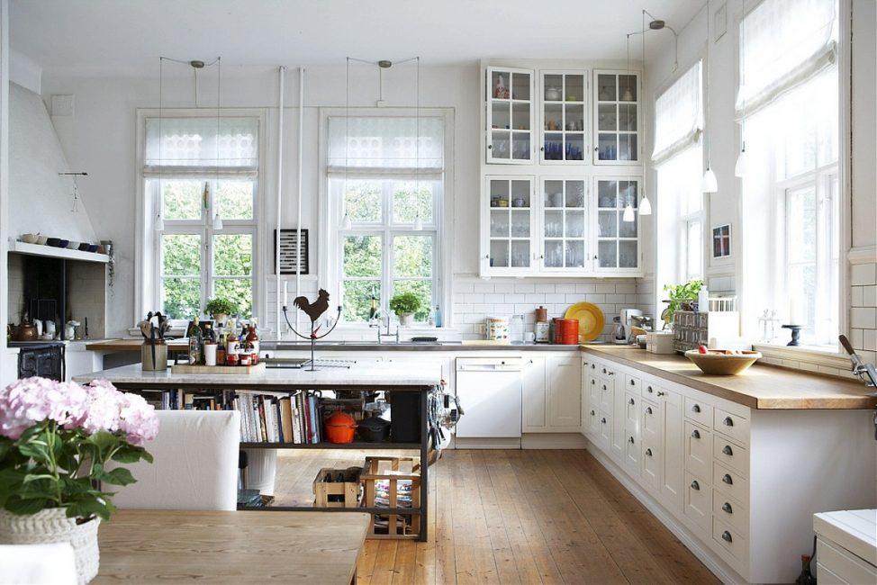 Аристократичный стиль современной кухни