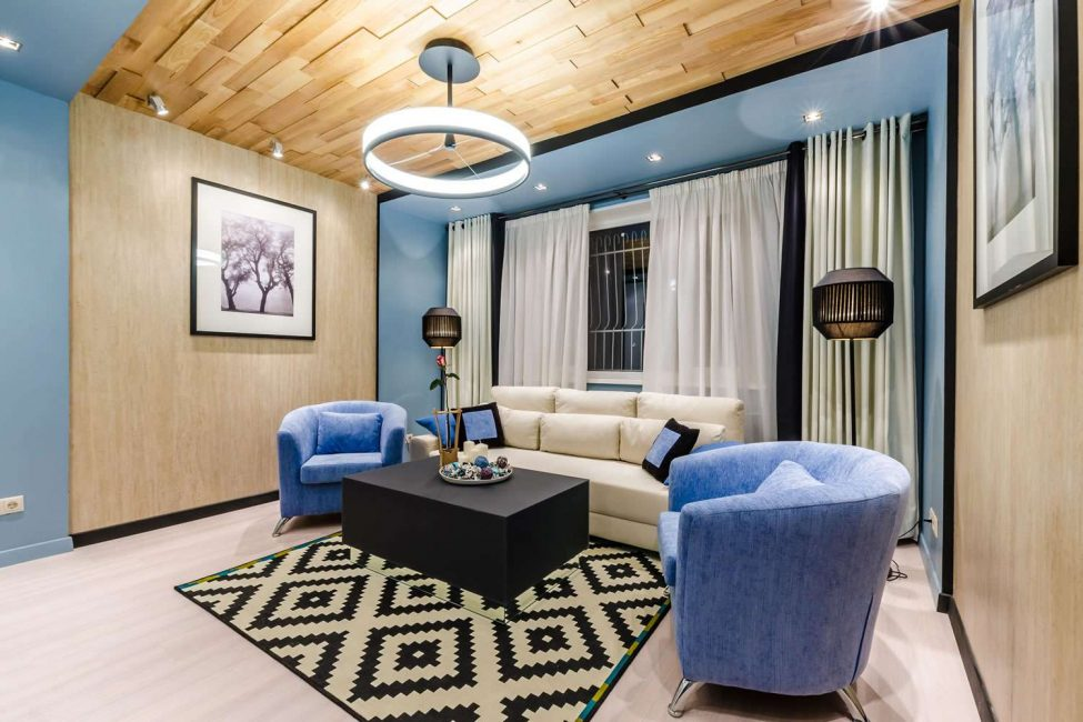 Раскладная мебель очень удобная для приема гостей