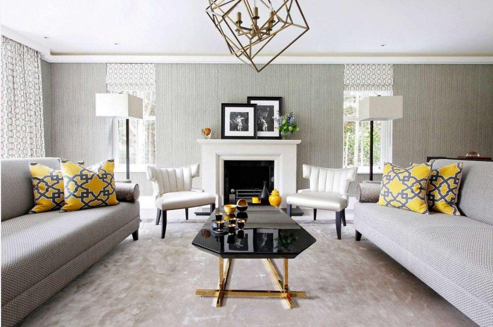 Принцип симметричной расстановки мебели