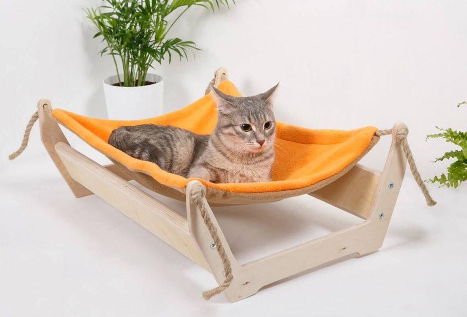 Домик-гамак для кошки