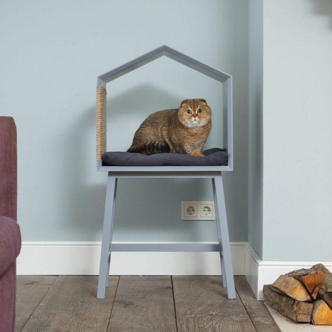 Домики для Кошек Своими Руками - 150 (Фото) Делаем Пошагово