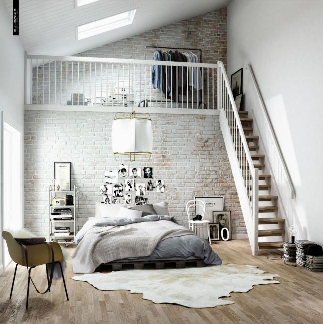 Дополнительное место для хранения под потолком
