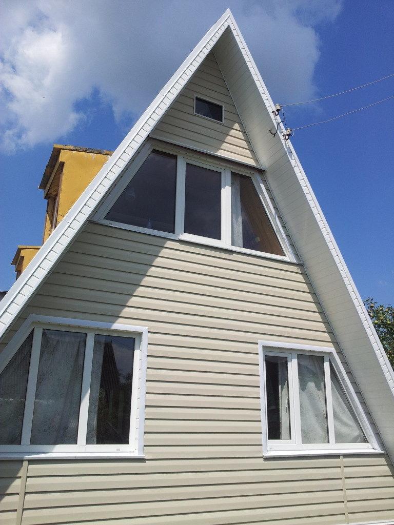 Отделка фронтонов деревянного дома фото что