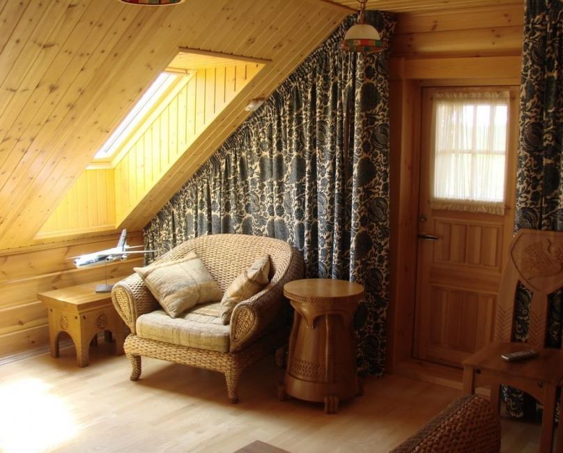 Уютная зона для отдыха