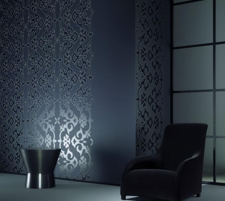 Идеальная текстура и цвет обоев для стиля хай-тек