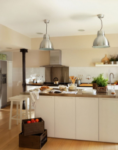 Освещение на кухне: Современные варианты уютного дизайна (155+ Фото)