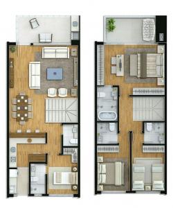 Дизайн интерьера таунхауса в современном стиле: 155+ (Фото) проектов для гостиной, кухни, двора
