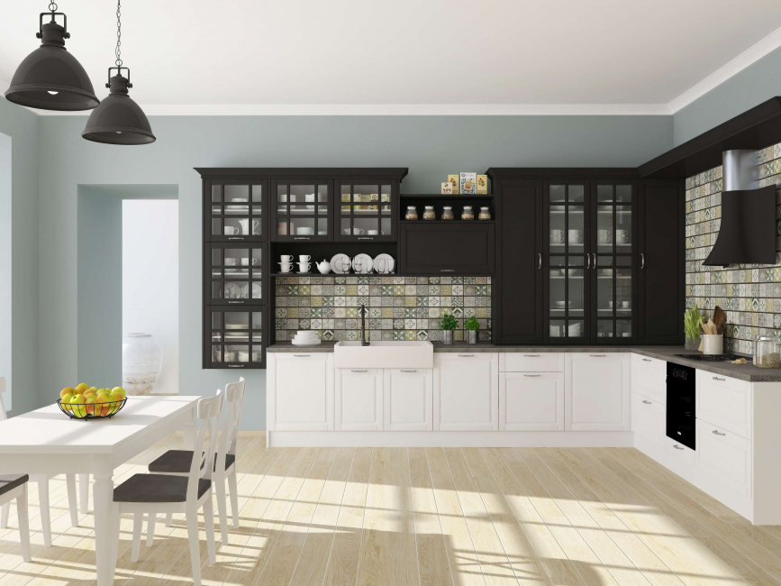 мПод кухонный гарнитур подбираем мебель