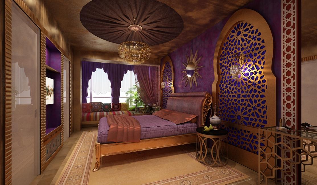 Потолок, который впечатляет своим богатым видом