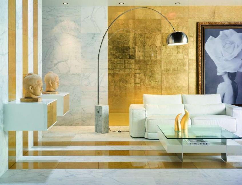 Золото - цвет богатства и красоты