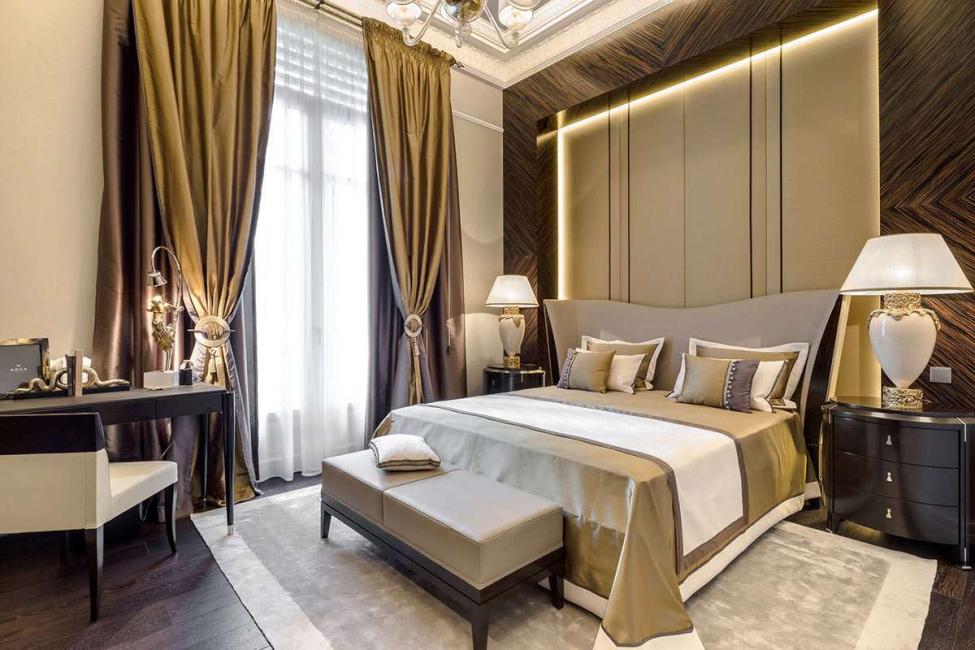 Не перенасыщайте комнату золотым цветом