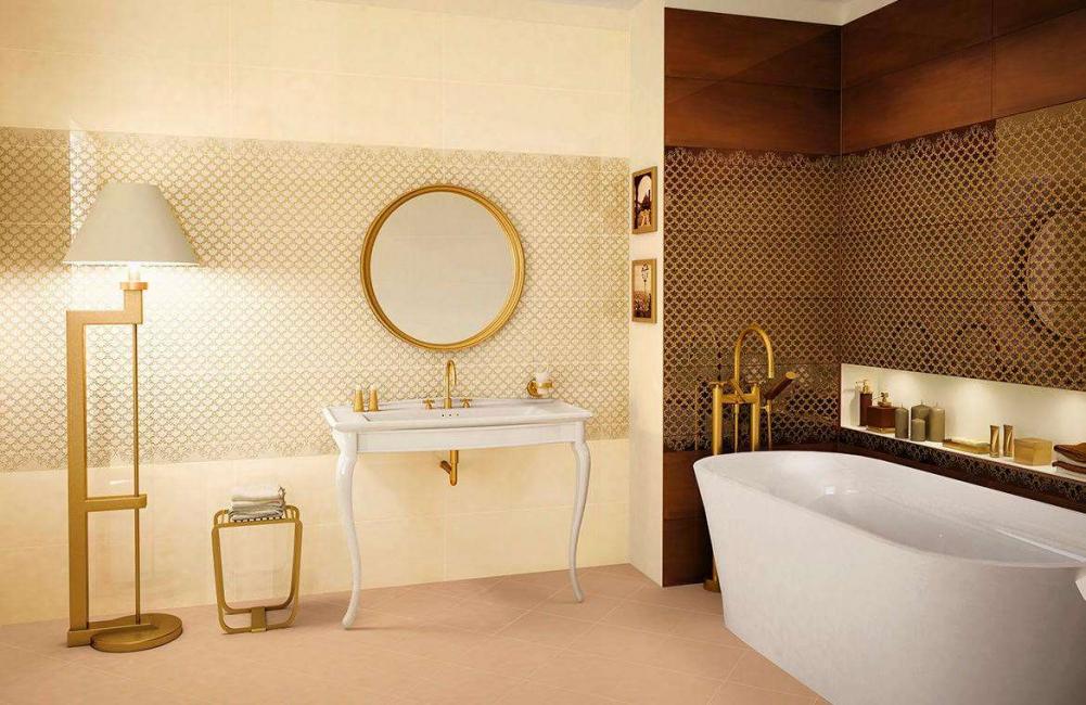 Изысканная и элегантная ванная комната