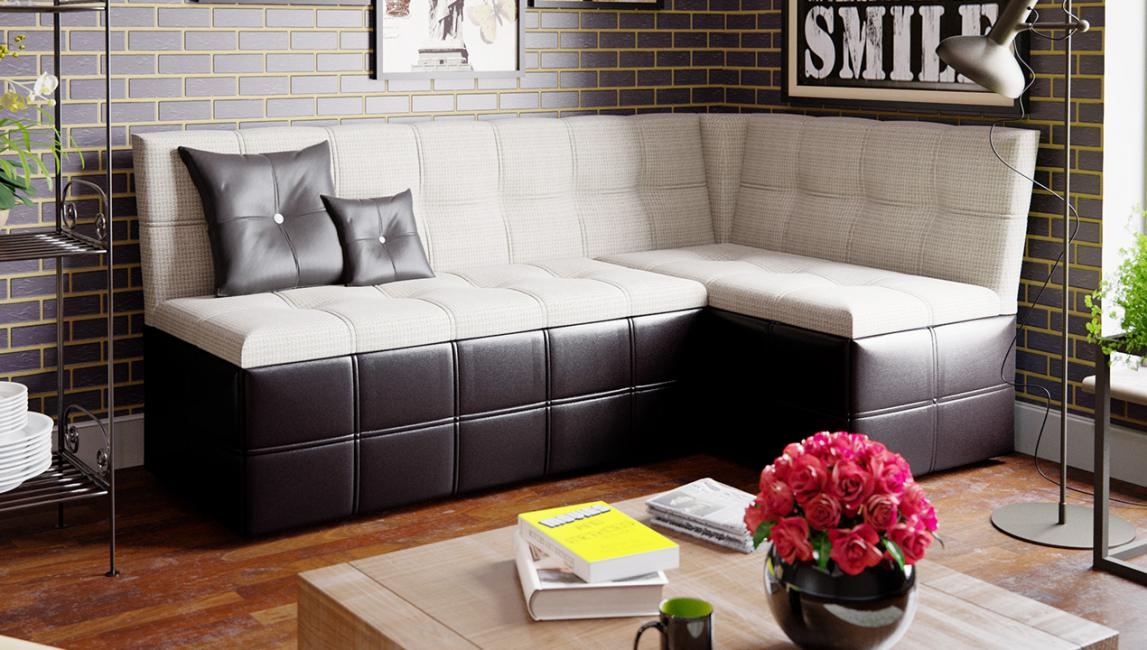 Можно поставить диван на кухню отдельно