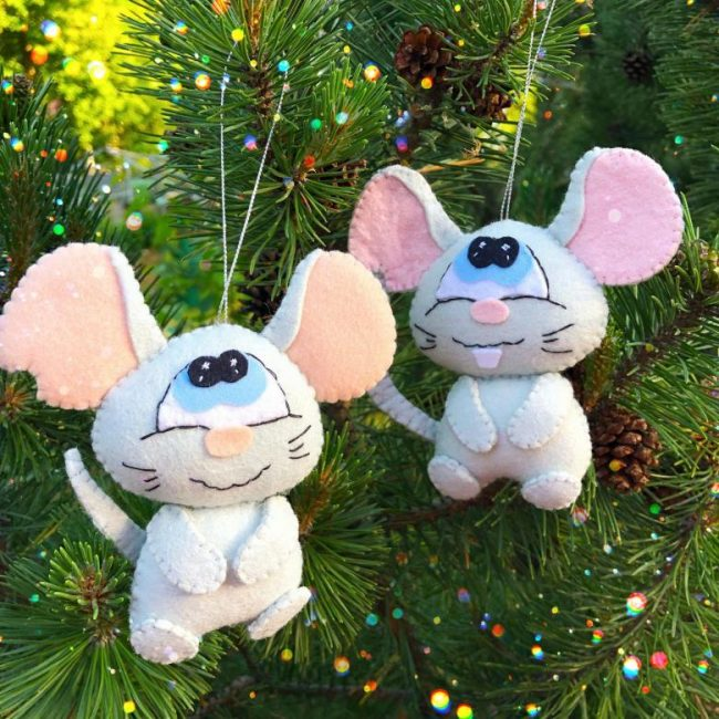 Самые популярные игрушки в этом году — крысы и мыши.