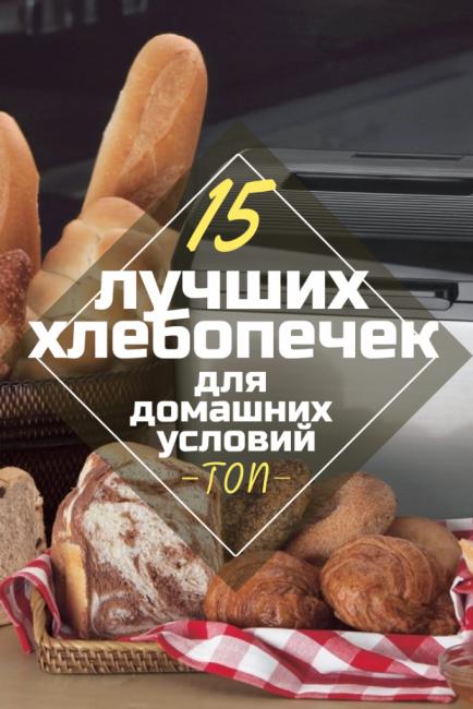 Рейтинг 15 лучших хлебопечек для домашних условий