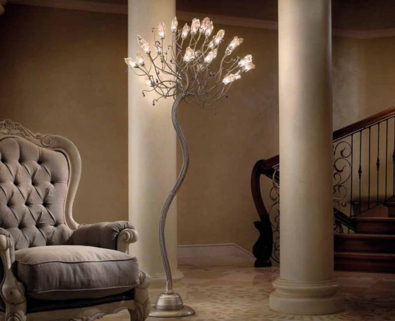 Расслабляющий интерьер с помощью приглушенного света