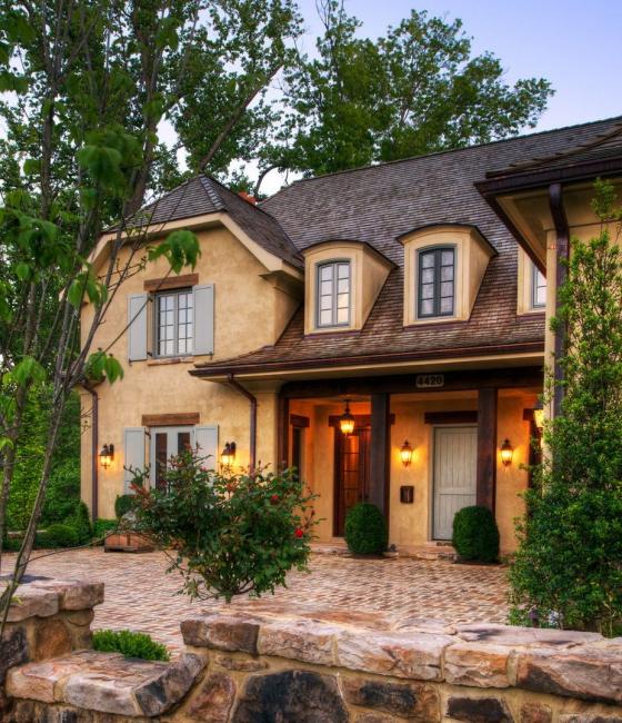 Уютный домик в французском стиле