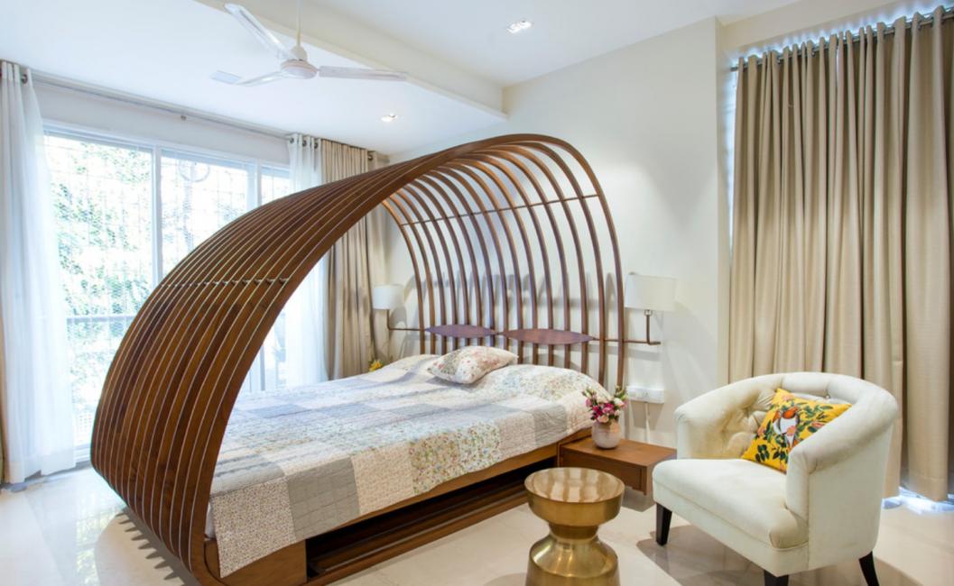 Кровати с балдахином с моды не выходят до сих пор