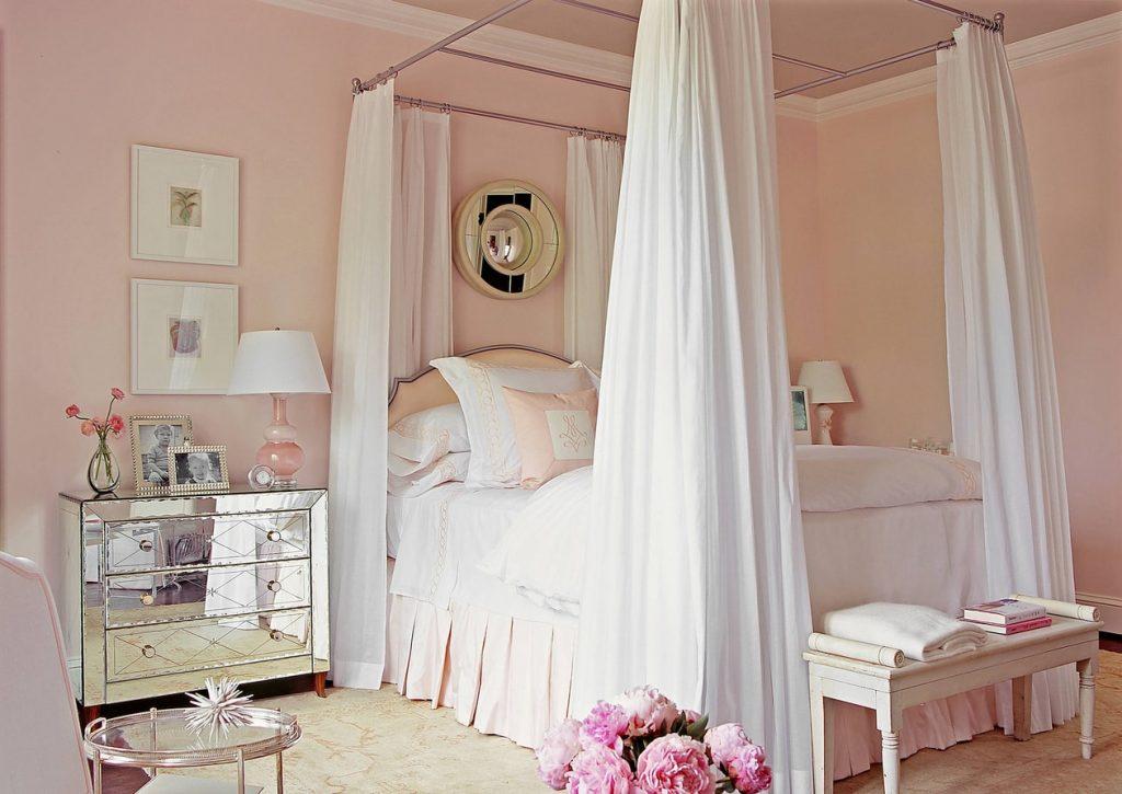 кровать с балдахином160 фото детям взрослым как выбрать