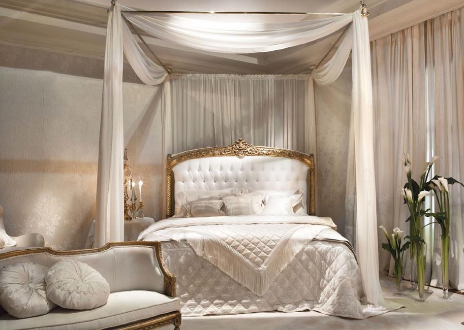 Доступная роскошь для скромной спальни