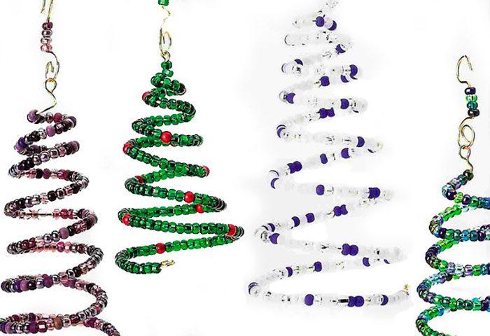 Елка спираль на новогоднюю елку