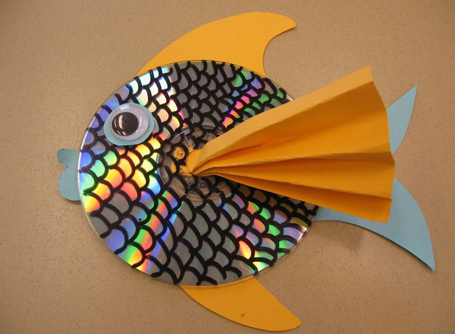 Красивая рыбка, которую можно сделать без труда